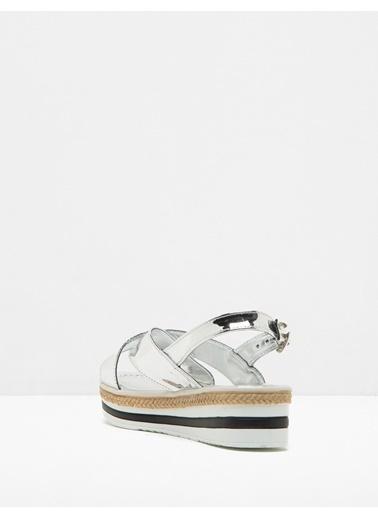Koton Sandalet Gümüş